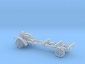 HOn3 1917 Model TT Railtruck Chassis in Smooth Fine Detail Plastic