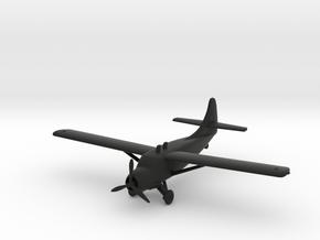 de Havilland Canada DHC-3 Otter in Black Natural Versatile Plastic: 1:160 - N
