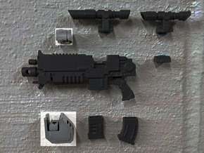 PRHI Large Modular Rifle- Assault Sprue in Smoothest Fine Detail Plastic