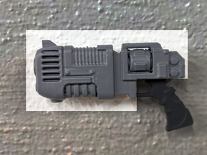PRHI Large Blast Pistol- Body in Black PA12