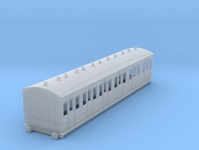 o-148fs-met-ashbury-bogie-composite-coach in Smooth Fine Detail Plastic