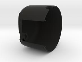 FZX speedometer cover in Black Natural Versatile Plastic