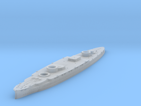 USS Arizona 1916 Hull in Smoothest Fine Detail Plastic