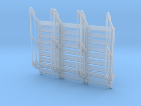 1:64 3x Stairs 9 in Smooth Fine Detail Plastic