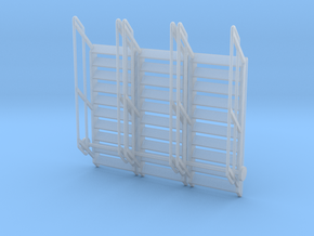 1:64 3x Stairs 10 in Smooth Fine Detail Plastic