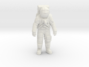 Apollo Astronaut 1:48 in White Natural Versatile Plastic