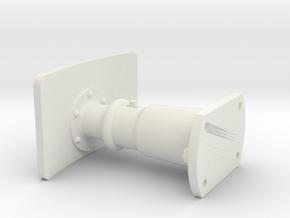 SNCV butoir / NMVB buffer in White Natural Versatile Plastic