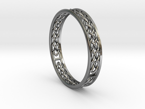 Celtic Ring MKII in Polished Silver