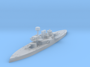 1/1250 HSwMS Oden in Smooth Fine Detail Plastic