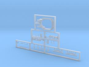 Scala N - FS E645-E646 seconda serie dettagli in Smooth Fine Detail Plastic