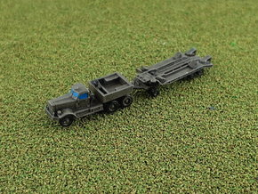 M19 Tank Transporter w. Hard Top 1/285 6mm in Smooth Fine Detail Plastic