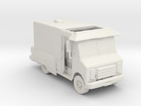 Cheet and Chon Van 1:160 Scale in White Natural Versatile Plastic