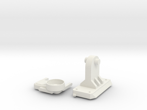 FirstScope Telescope Adapter in White Natural Versatile Plastic
