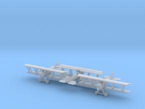 1/285 Pfalz DXII x3 in Smooth Fine Detail Plastic