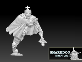Character Series: Ghost King in White Natural Versatile Plastic