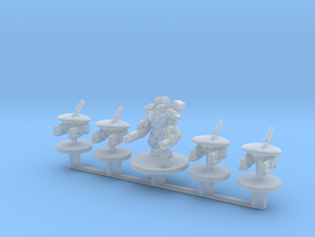 Command set 6mm Infantry Epic greater good micro in Smooth Fine Detail Plastic