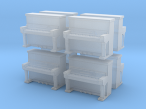 Piano (x8) 1/220 in Smooth Fine Detail Plastic