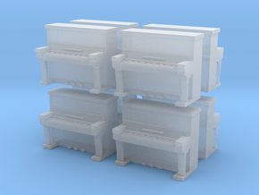 Piano (x8) 1/285 in Smooth Fine Detail Plastic