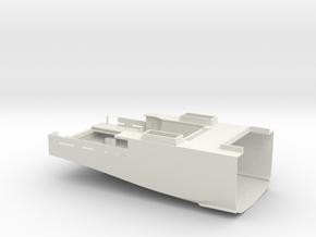 HMCS Kingston, hull 1 of 2 (1:72) in White Natural Versatile Plastic