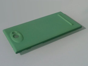 The Other Side Camera Protector for Jolla phone -  in Green Processed Versatile Plastic