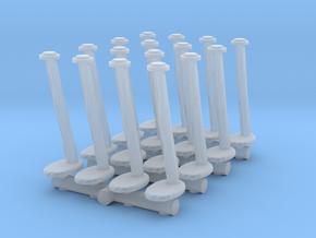 Tellermine Post (x16) 1/100 in Smooth Fine Detail Plastic