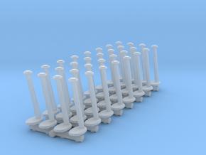 Tellermine Post (x32) 1/200 in Smooth Fine Detail Plastic