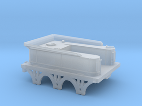 North Star Broad Gauge Tender (N Scale) in Smooth Fine Detail Plastic