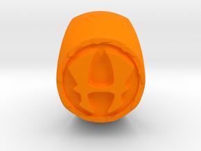 Hercules Ring Size 11 in Orange Processed Versatile Plastic