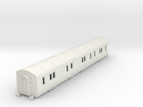 o-100-gwr-k40-passenger-brake-van in White Natural Versatile Plastic