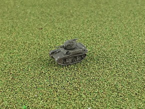 US M2A4 Light Tank 1/285 6mm in Smooth Fine Detail Plastic