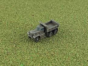 US Diamond T 972 Dump Truck 1/285 in Smooth Fine Detail Plastic