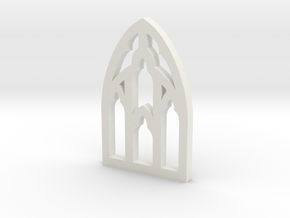 Window Two in White Natural Versatile Plastic