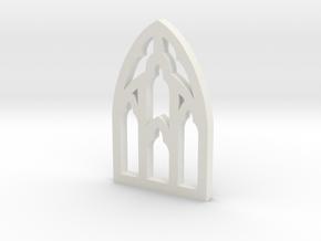Window Two in White Natural Versatile Plastic