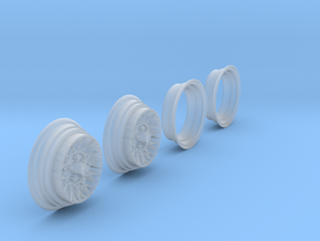 "1:25 Hotwire Wheels 7""x14"" in Smooth Fine Detail Plastic"