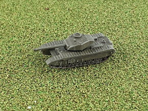 """Churchill A 43 """"Black Prince"""" 1/285 / 6mm in Smooth Fine Detail Plastic"""