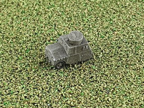 British Beaverette MK III Recon Car 1/285 6mm in Smooth Fine Detail Plastic