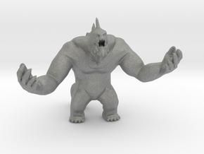 Dagon 60mm miniature monster DnD fantasy rpg in Gray PA12