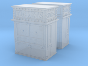 Carnival Ticket Booth (x2) 1/285 in Smooth Fine Detail Plastic