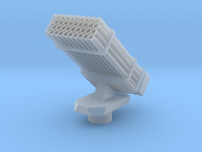 bm21 Missile pod 1:100 scale in Smooth Fine Detail Plastic
