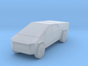Tesla Cybertruck 1/220 in Smooth Fine Detail Plastic