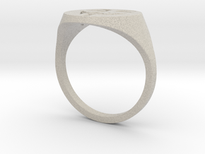 V's Ring in Sandstone