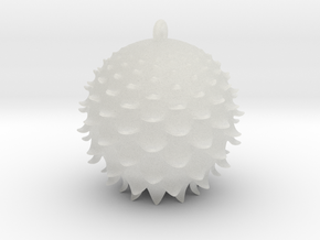 Thistle Ball in Smooth Fine Detail Plastic