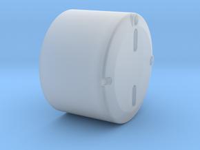 Nabendeckel Vorderachse für ML-Tec Fendt 1050 in Smooth Fine Detail Plastic