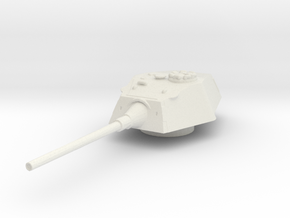 E-100 Tank Turret 1/144 in White Natural Versatile Plastic