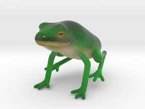 Frog in Full Color Sandstone