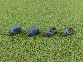 DKW Munga LKW 0,25to 1/285 6mm in Smooth Fine Detail Plastic