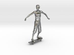 Skater 1:32 in Natural Silver