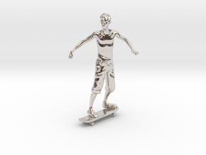 Skater 1:32 in Platinum