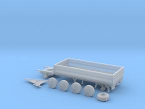 Infanterie Anhänger 85 in Smoothest Fine Detail Plastic: 1:87 - HO