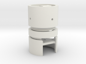AirSoft M24 Stick Grenade Kit in White Natural Versatile Plastic